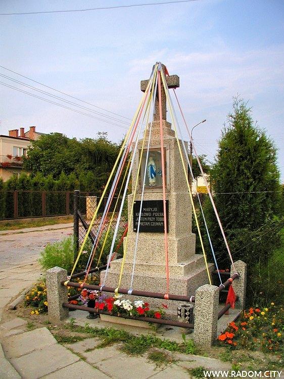 Radom. Kapliczka - Zbrowskiego/Gołębiowska.