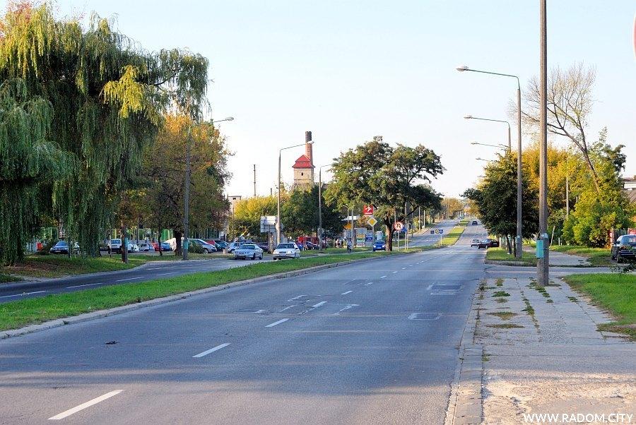 Radom. Ulica Warszawska.