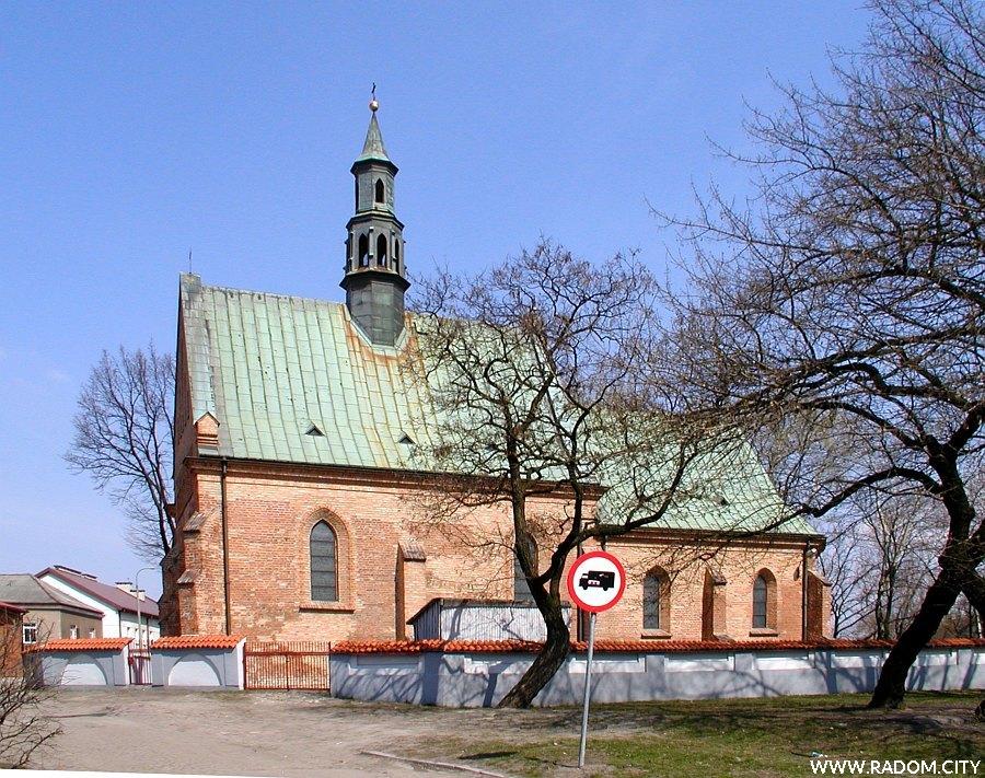 Radom. Kościół Św. Wacława.