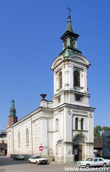 Radom. Kościół ewangelicko-augsburski.