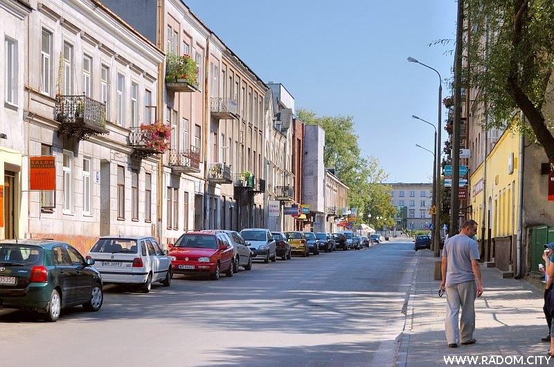 Radom. Ulica Jana Kilińskiego.
