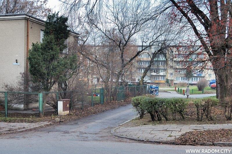 Radom. Ulica Warskiego.