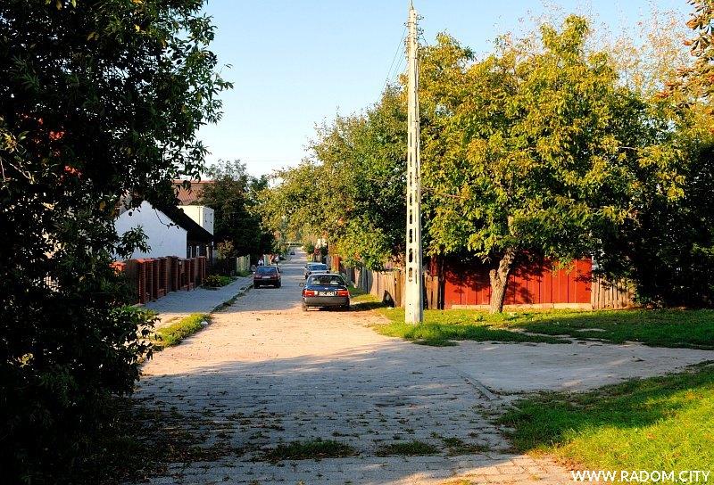 Radom. Ulica Starowolska.