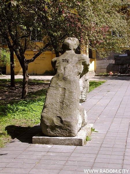 Radom. Pomnik przy ul. T. Kościuszki.