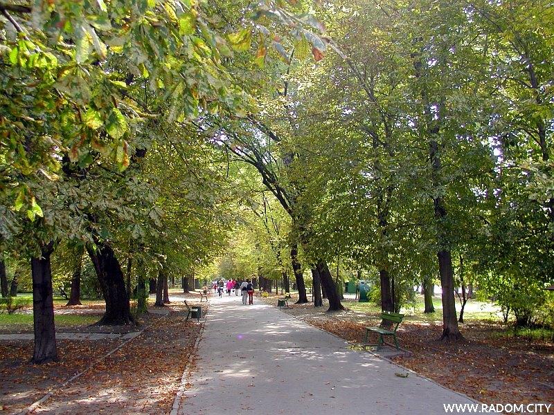 Radom. Park. im. T. Kościuszki.