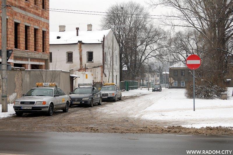 Radom. Ulica Koszarowa.