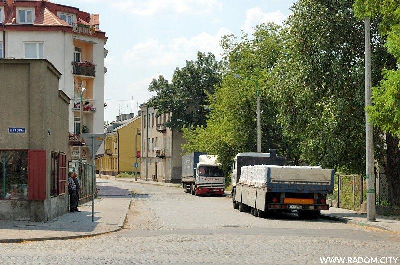 Radom. Ulica Krakowska.