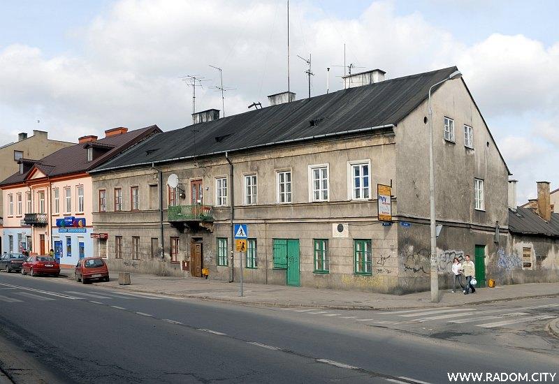 Radom. Budynek przy ul. Reja, w którym mieszkał W. Przyborowski.