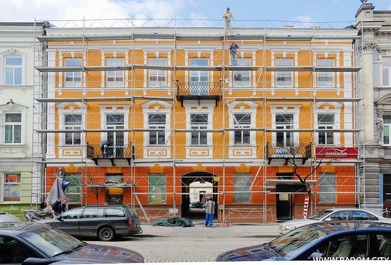 Radom. Kamienica przy ul. Piłsudskiego 5.