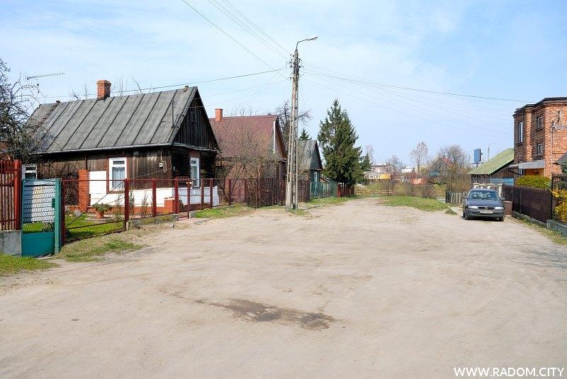 Radom. Ulica Żwirowa.