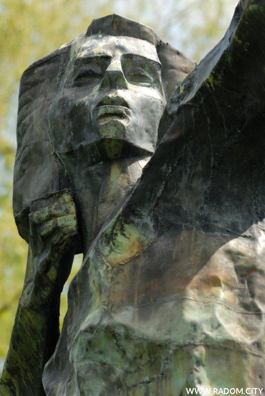 Radom. Pomnik Łucznika.