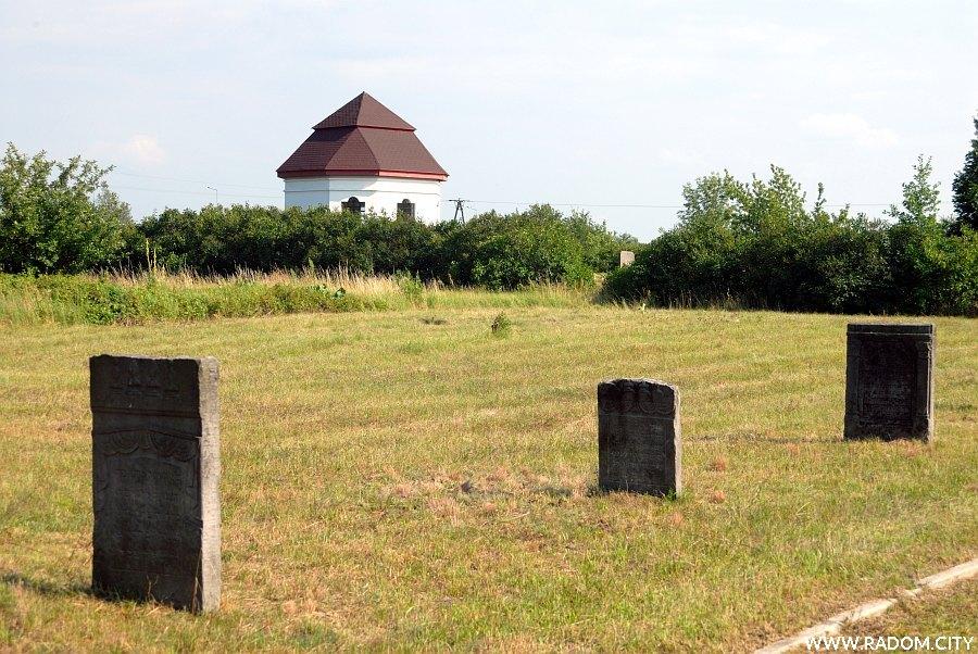 Radom. Cmentarz żydowski.