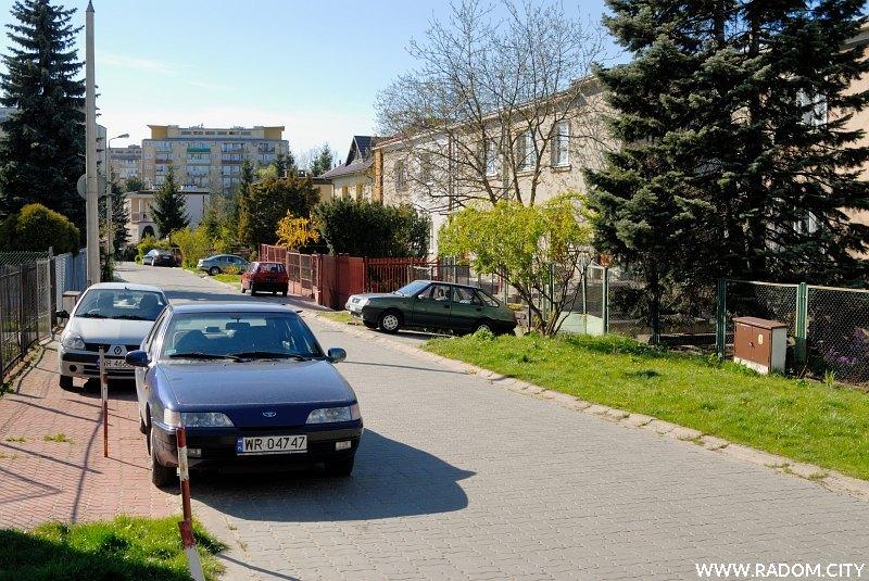 Radom. Ulica Wojciechowskiego.