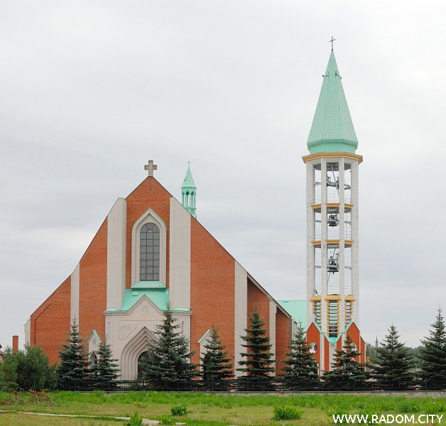 Radom. Kościół św. Kazimierza.