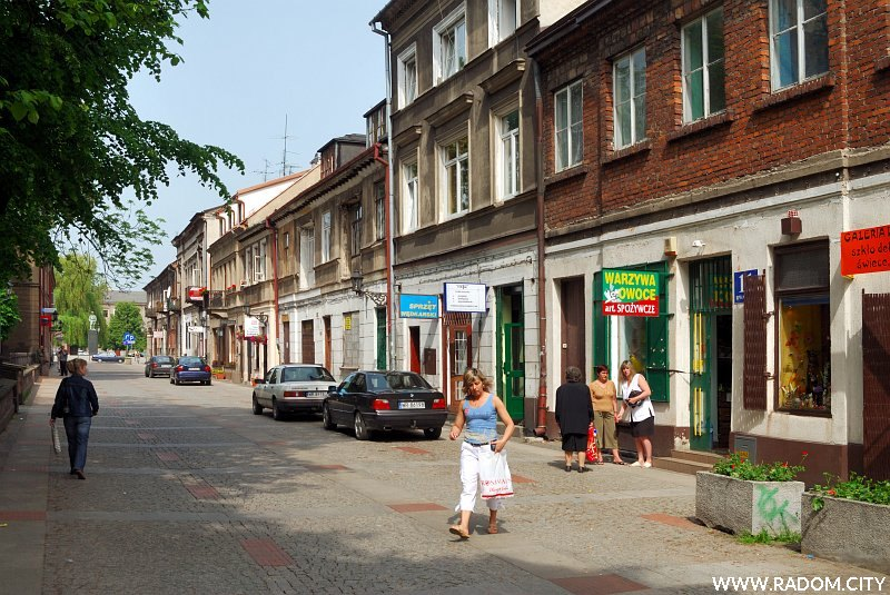 Radom. Ulica Rwańska.