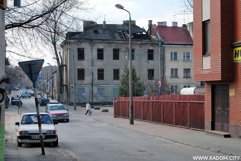 Radom. Ulica Podwalna.