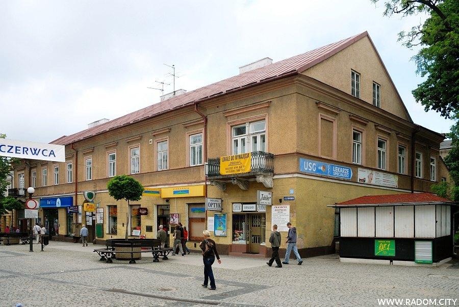 Radom. Budynek przy ul. Żeromskiego 51.