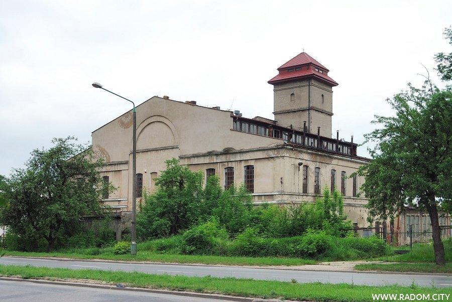 Radom. Stara garbarnia przy ul. Warszawskiej.