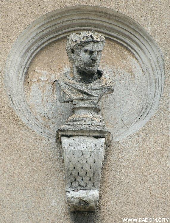 Radom. Narodówka - mędrzec czwarty z lewej - Juliusz Cezar?.