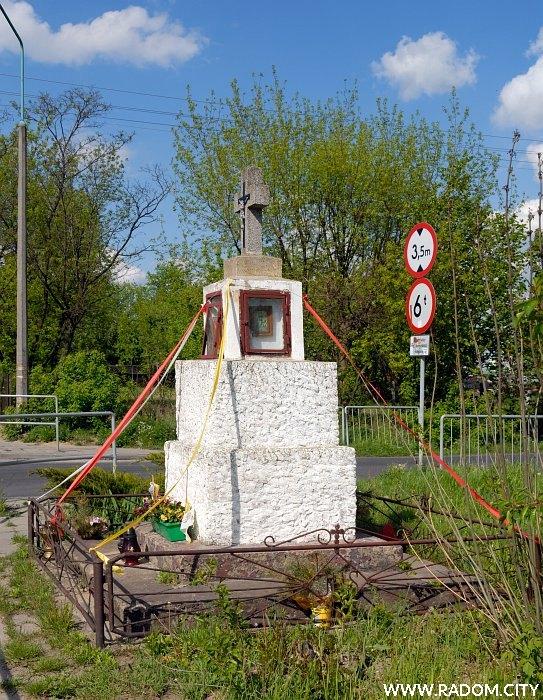 Radom. Krzyż - Energetyków/Stara Wola Gołębiowska.