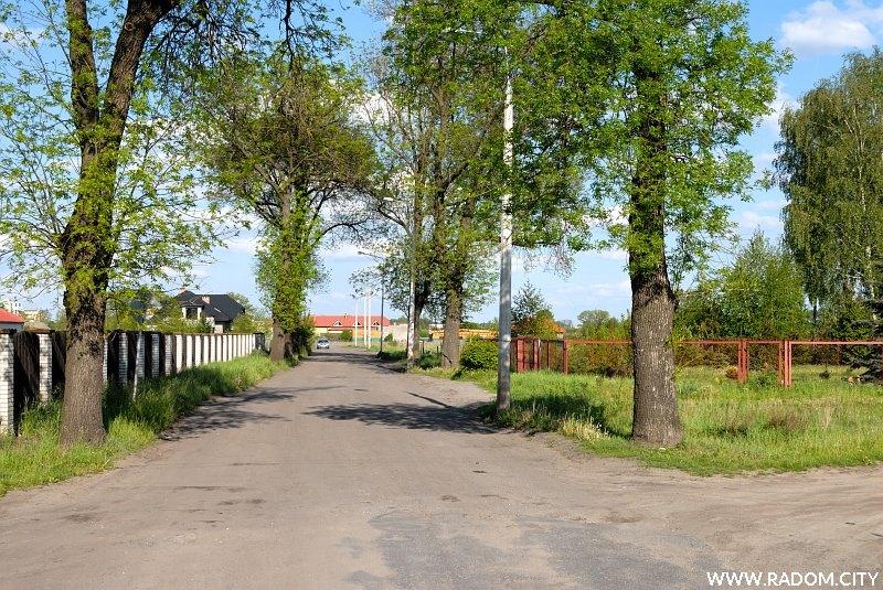 Radom. Ulica Perzanowskiej.