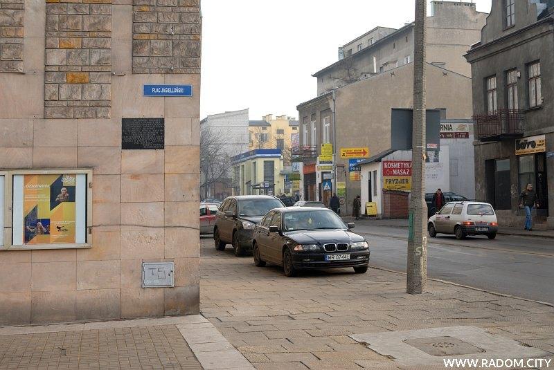 Radom. Tablica - Teatr im. Jana Kochanowskiego.