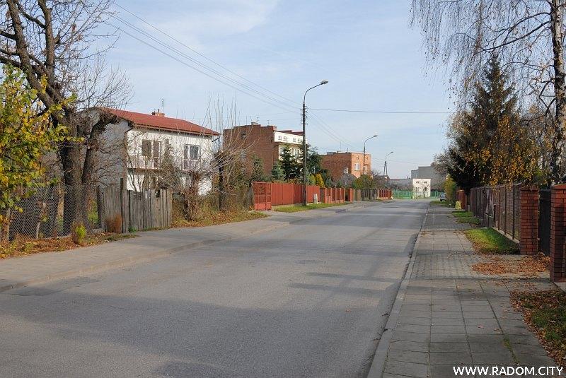 Radom. Ulica Skaryszewska.