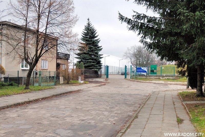 Radom. Ulica Marusarzówny.