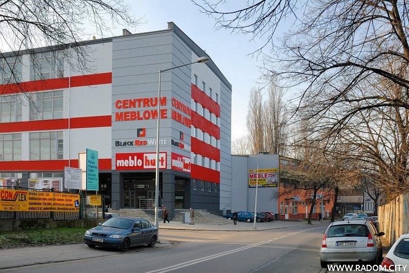 Radom. Skrzyżowanie Domagalskiego/Graniczna.
