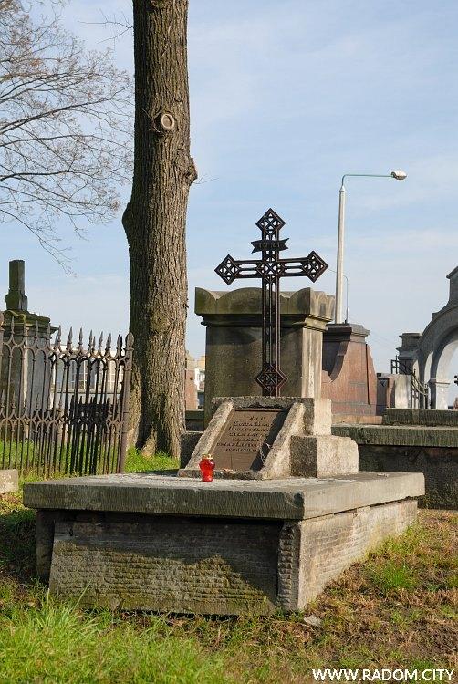 Radom. Cmentarz ewangelicki.