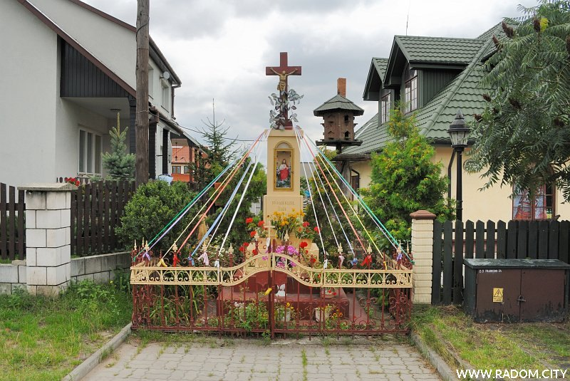 Radom. Kapliczka - Folwarczna/Mokra.