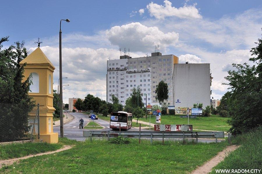 Radom. Kapliczka - Wierzbicka/Boczna.