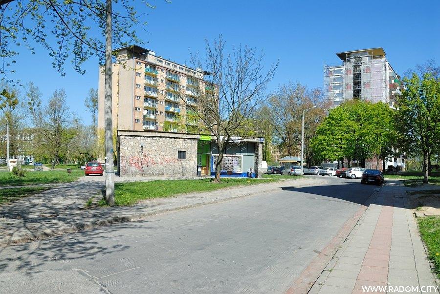 Radom. Ulica Sowińskiego.