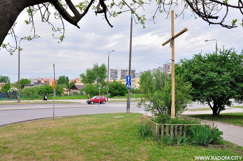 Radom. Krzyż - Jana Pawła/Młodzianowska.