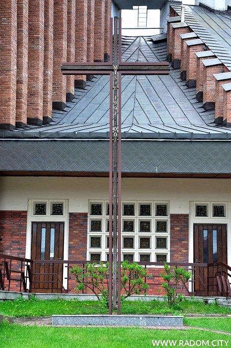 Radom. Krzyż - Młodzianowska/kościół.