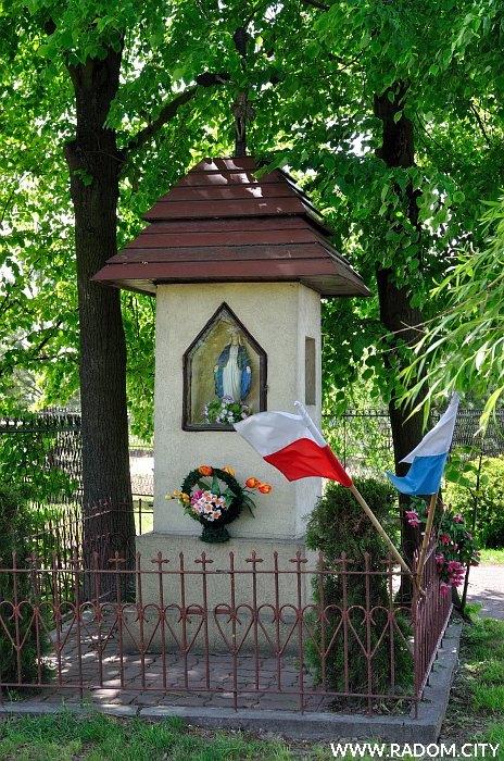 Radom. Kapliczka - Słowackiego/Banacha.