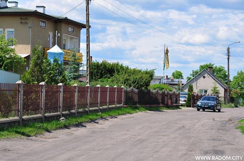 Radom. Ulica Potokowa.