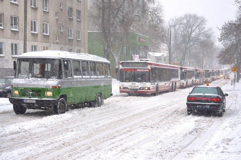 Radom. Skrzyżowanie Struga/25 Czerwca.