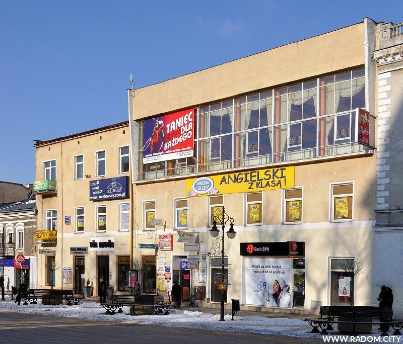 Radom. Budynek przy ul. Żeromskiego 31.