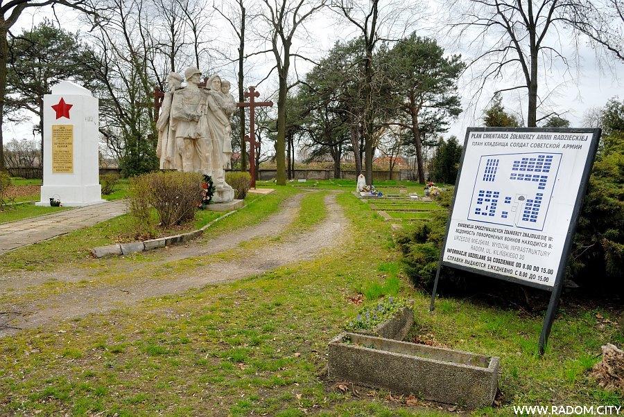 Radom. Cmentarz prawosławny.