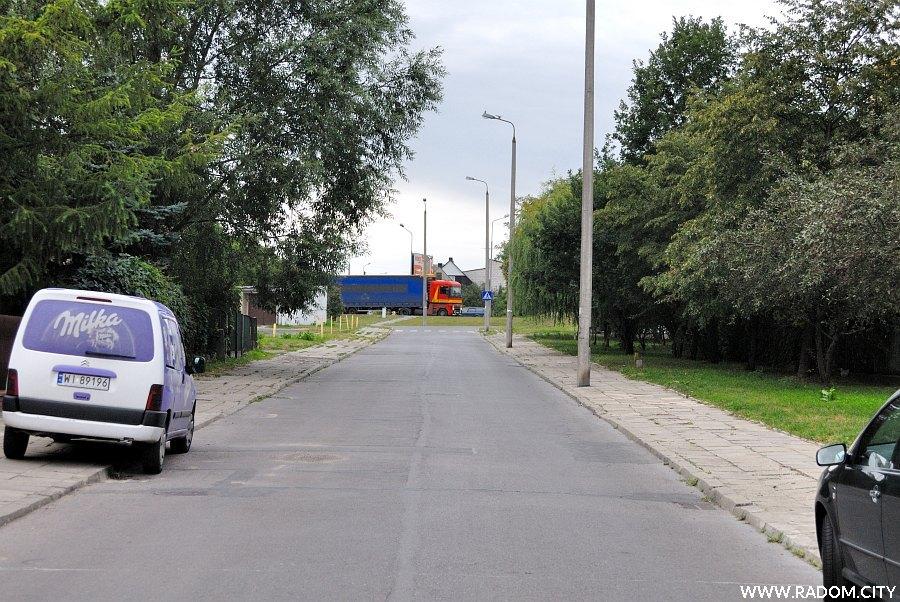 Radom. Ulica Natolińska.