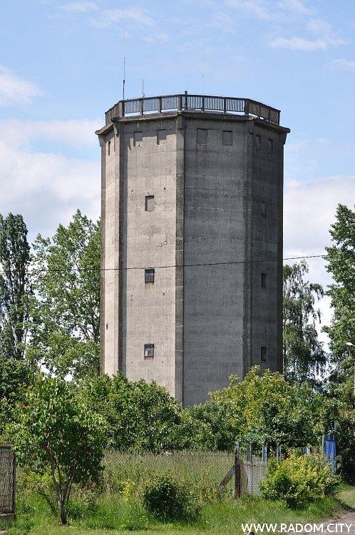 Radom. Wieża ciśnień/ul. Żelazna.