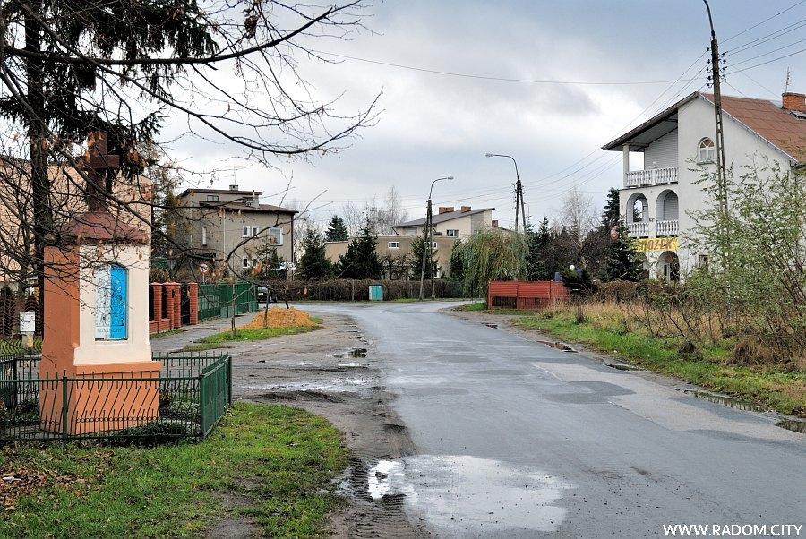 Radom. Ulica Idalińska.