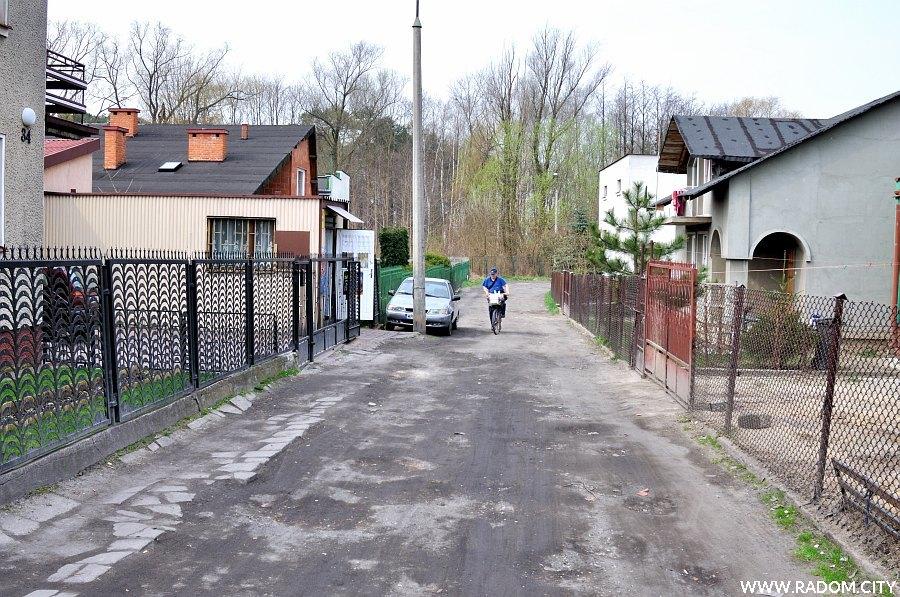 Radom. Ulica Wiertnicza.