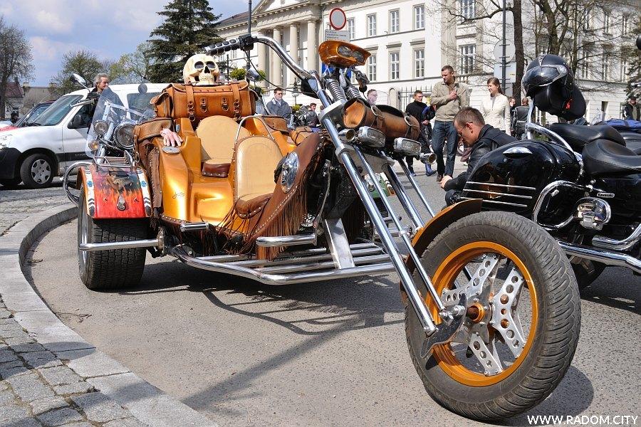 Radom. Zlot motocykli - Motoserce 2011.