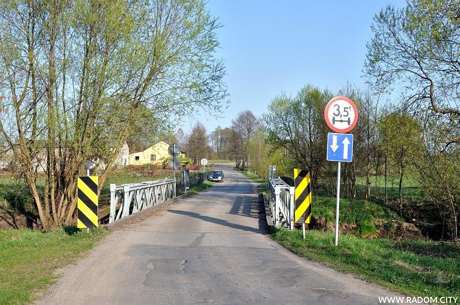 Radom. Ulica Ofiar Firleja - most na Mlecznej.