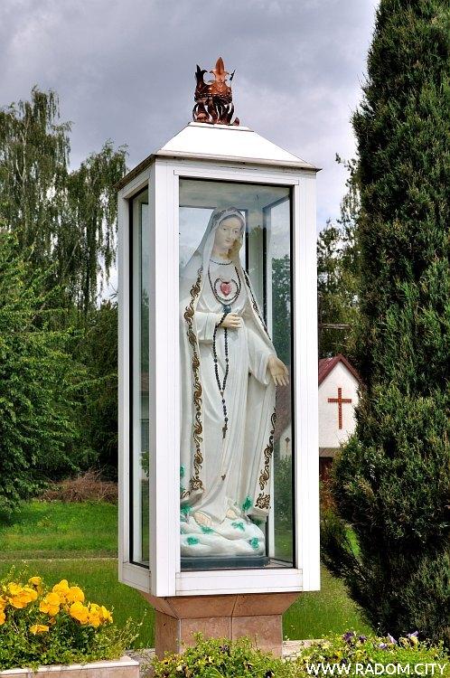 Radom. Kapliczka - Starokrakowska/kościół.