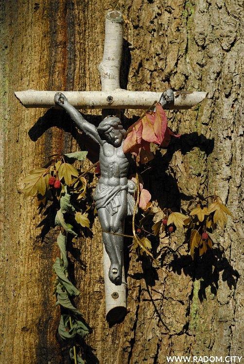 Radom. Krzyż - Las Kapturski.