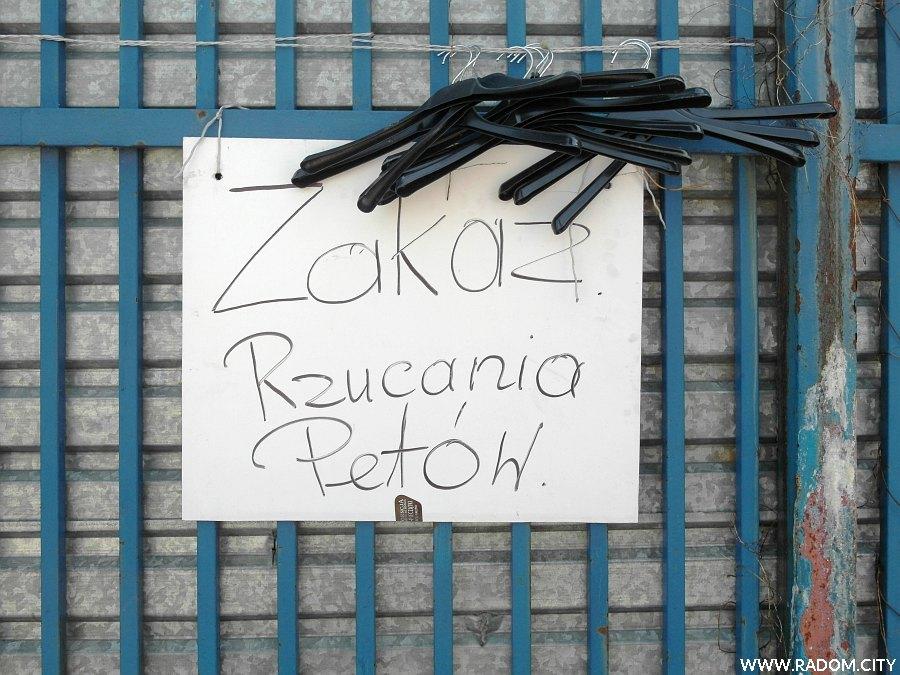 Radom. Zakaz - targ/Struga.