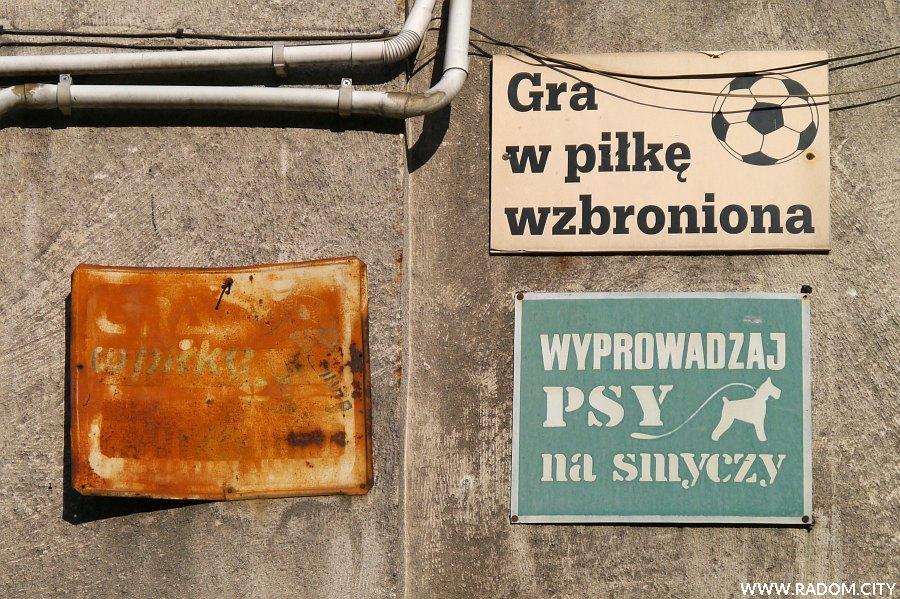 Radom. Tablice - Malczewskiego 21.